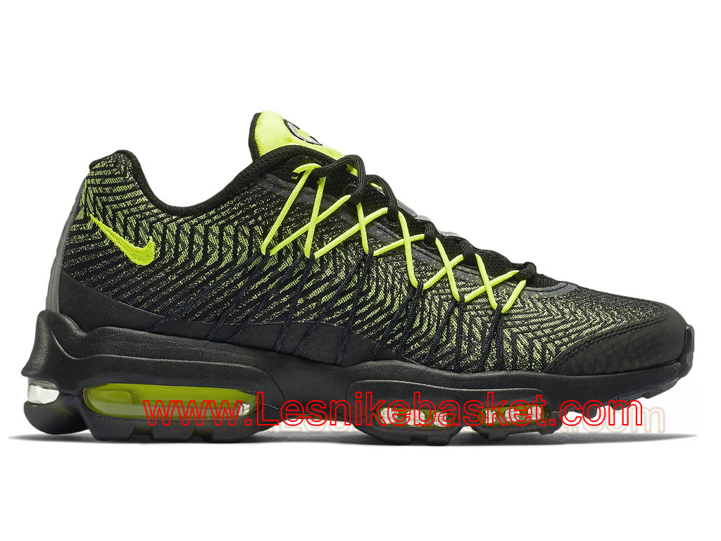 Basket Homme Nike Air Max 95 Ultra Jacquard Black Volt