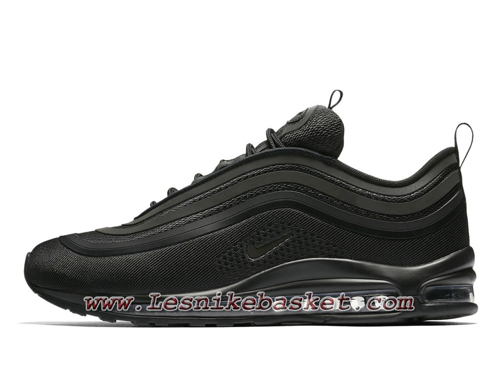 sale retailer 312bb 43613 ... Chaussures Nike Air Max 97 Ultra´17 Triple Black 918356 002 Nike Air Max  Pur