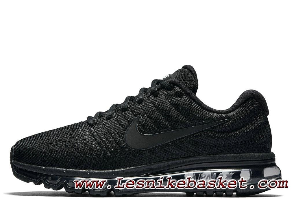 brand new 0303e b99f6 Nike Air Max 2017 Noir Noir 849559 004 Chaussures Officiel Nike Prix Pour  Homme Noir ...