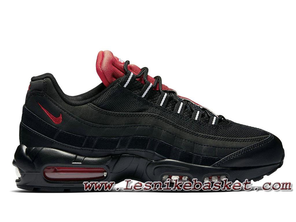 Nike Essential Air Max 95 Essential Nike ´Noir Challenge Red´ 749766 016  Chausport 640c31 2d238660237a