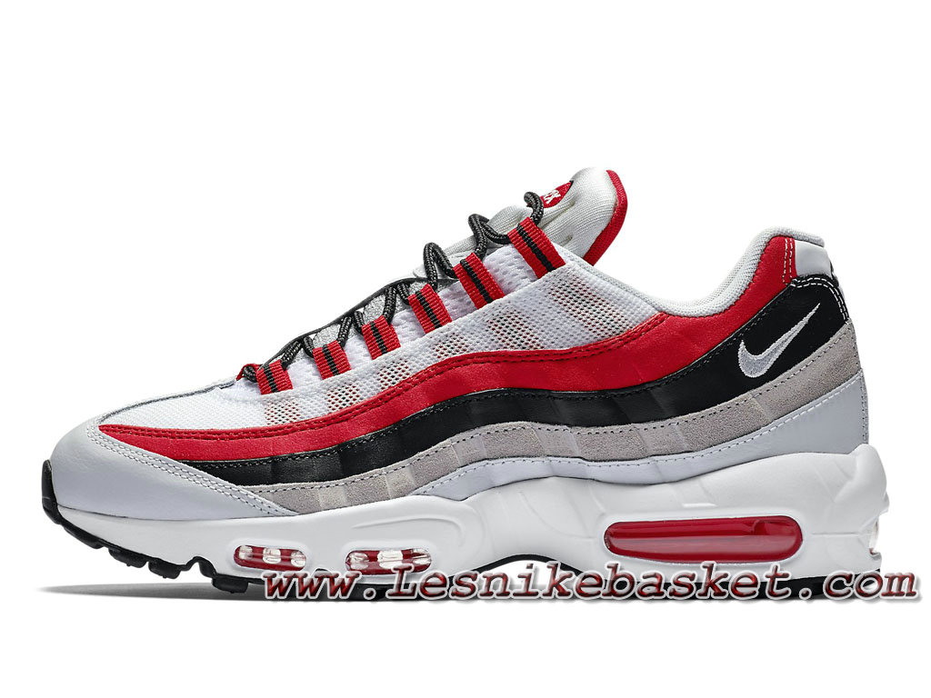pretty nice a1ada 13739 ... inexpensive nike air max 95 essential university red 749766601  chausport officiel nike prix pour homme blanc
