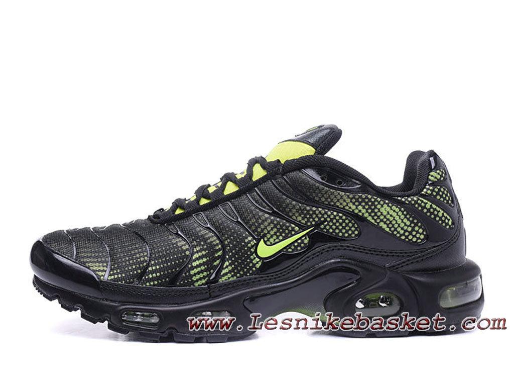 Nike Tuned 1(nike Tn 2017) Vert Noires Chaussues Nike Basket Pour Homme-1805252884 - Les Nike Sneaker Officiel site En France