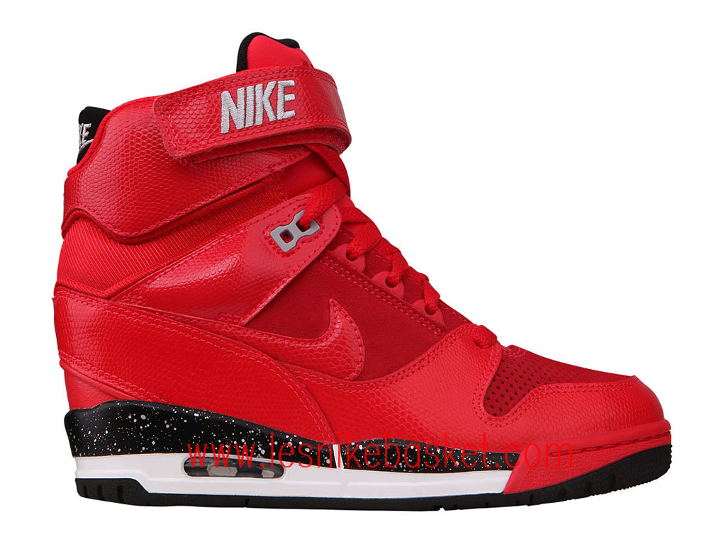 Nike Wmns Air Revolution Sky Hi GS Femme CAction Red 599410