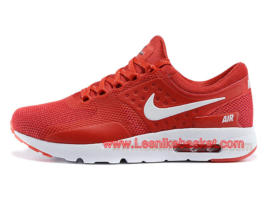 sports shoes 612b4 b228d australia running homme nike air max zero rouge black 789695 id5 nike pas  cher les nike