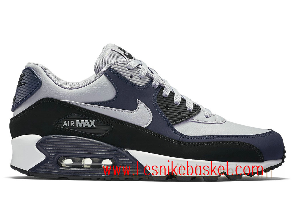 Running Nike Air Max 90 Leather Homme Wolf Grey 652980_011 Basket Nike - Les Nike Sneaker Officiel site En France