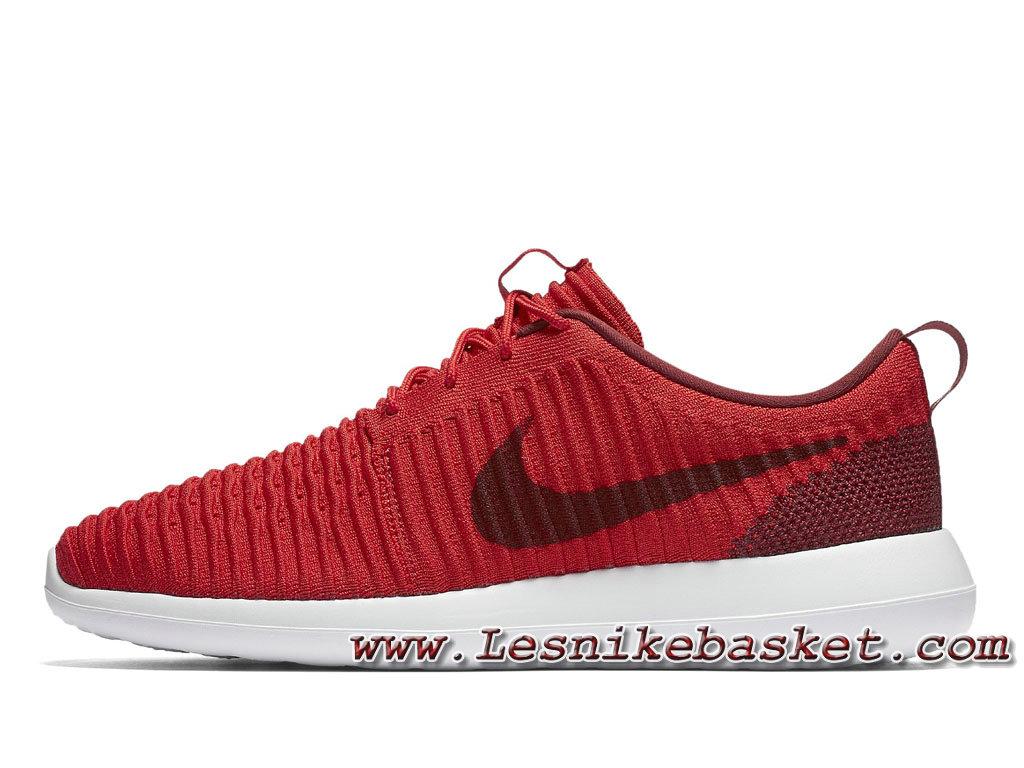 Running Nike Roshe Two Flyknit Rouge 844833_600 Chaussures NIke Pas cher Pour Homme 1706053129 Les Nike Sneaker Officiel site En France